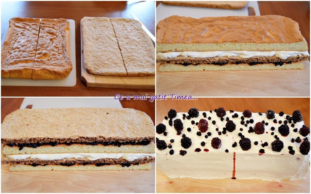 mod de preparare Tort Timea 1