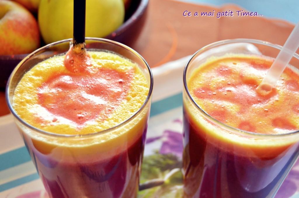 suc de fructe cu sfecla