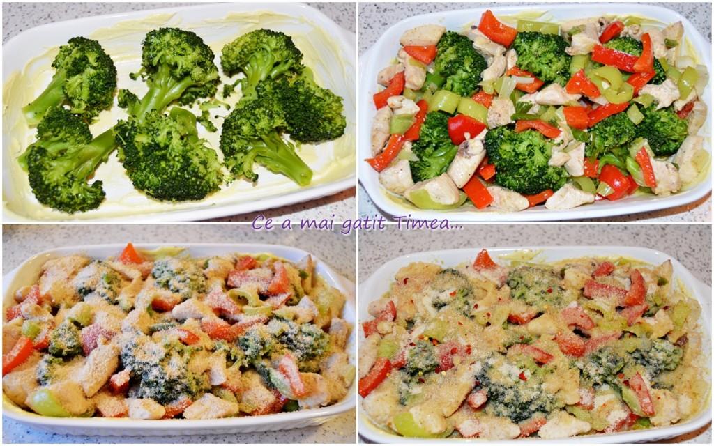 mod de preparare brocoli cu pui 1