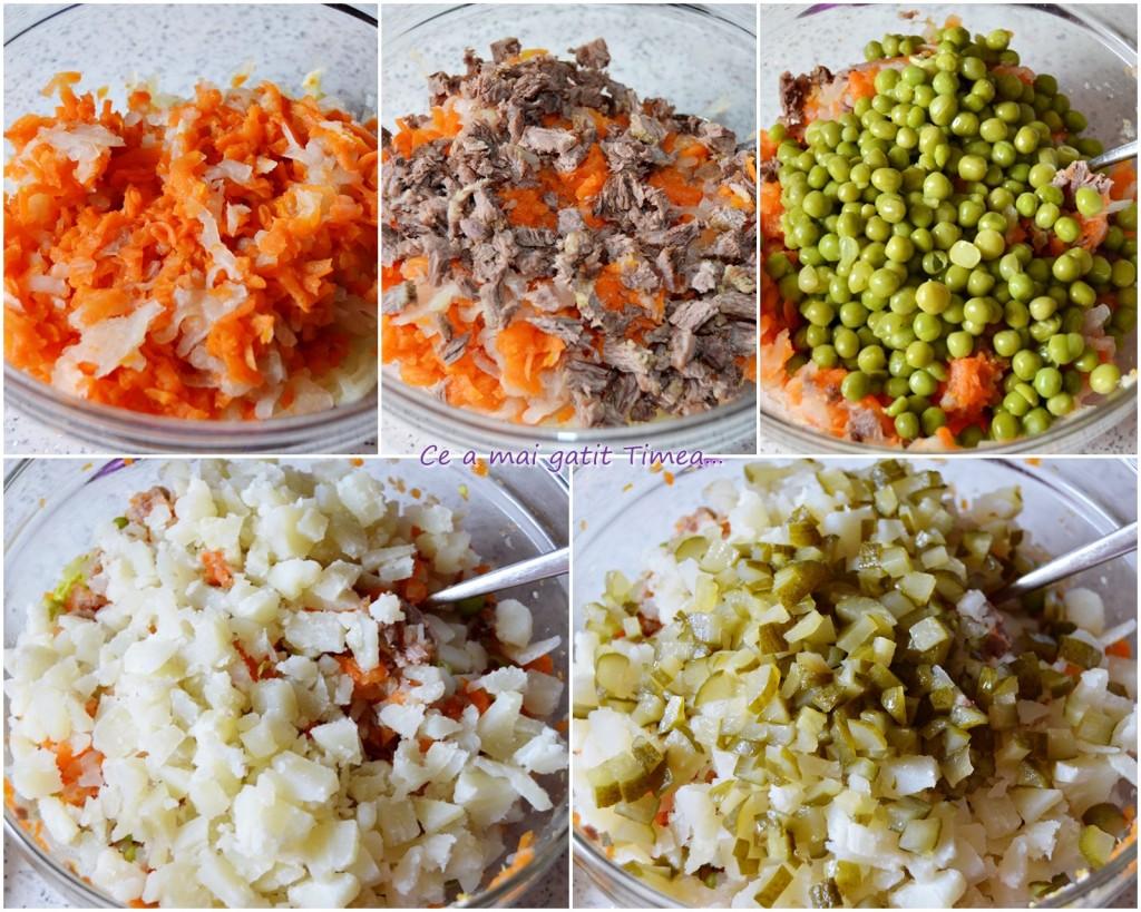 mod de preparare salata de bouf