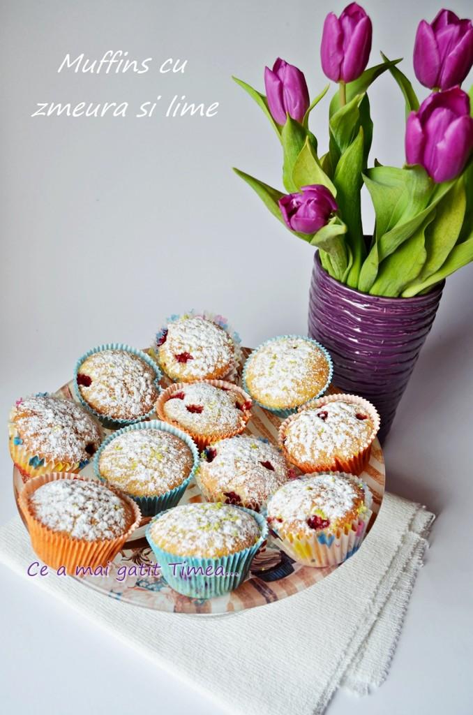 muffins cu zmeura si lime 2