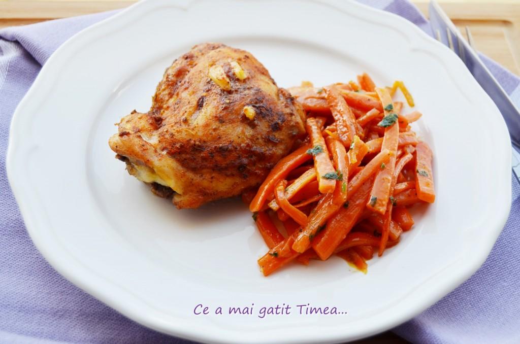 sote de morcovi cu pulpe de pui 1
