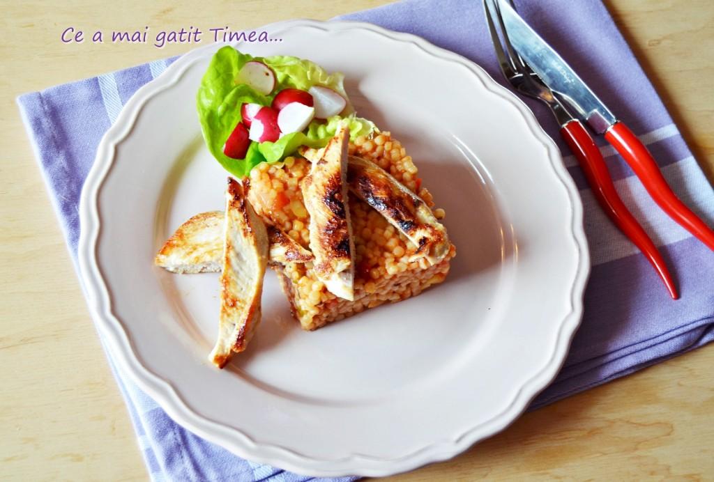 cuscus cu sos de rosii 1