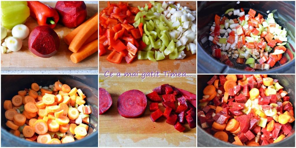 mod de preparare mancare de sfecla cu legume la Crock Pot