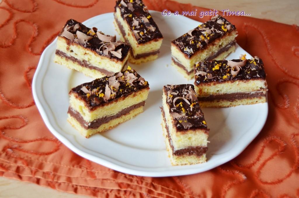 prajitura cu ciocolata si portocala 3