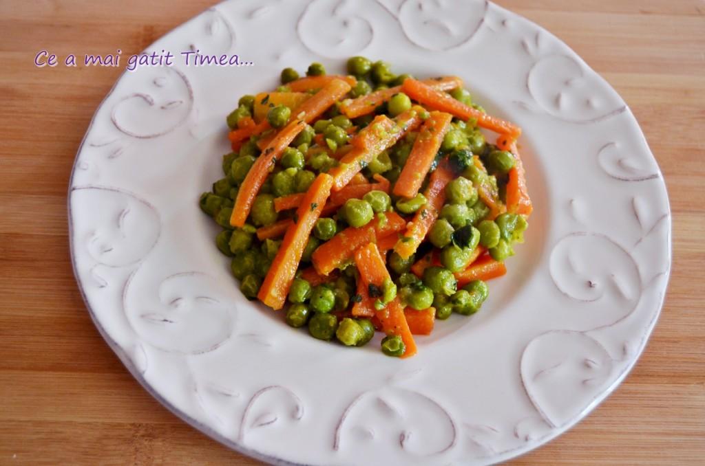 sote de morcovi cu mazare 1