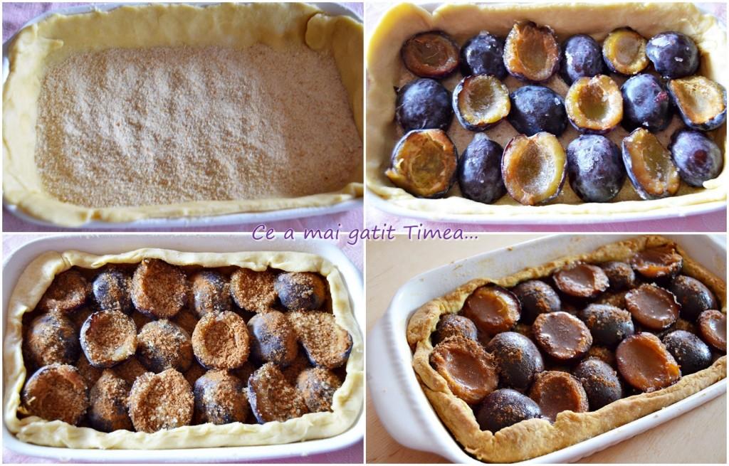 mod de preparare tarta cu prune
