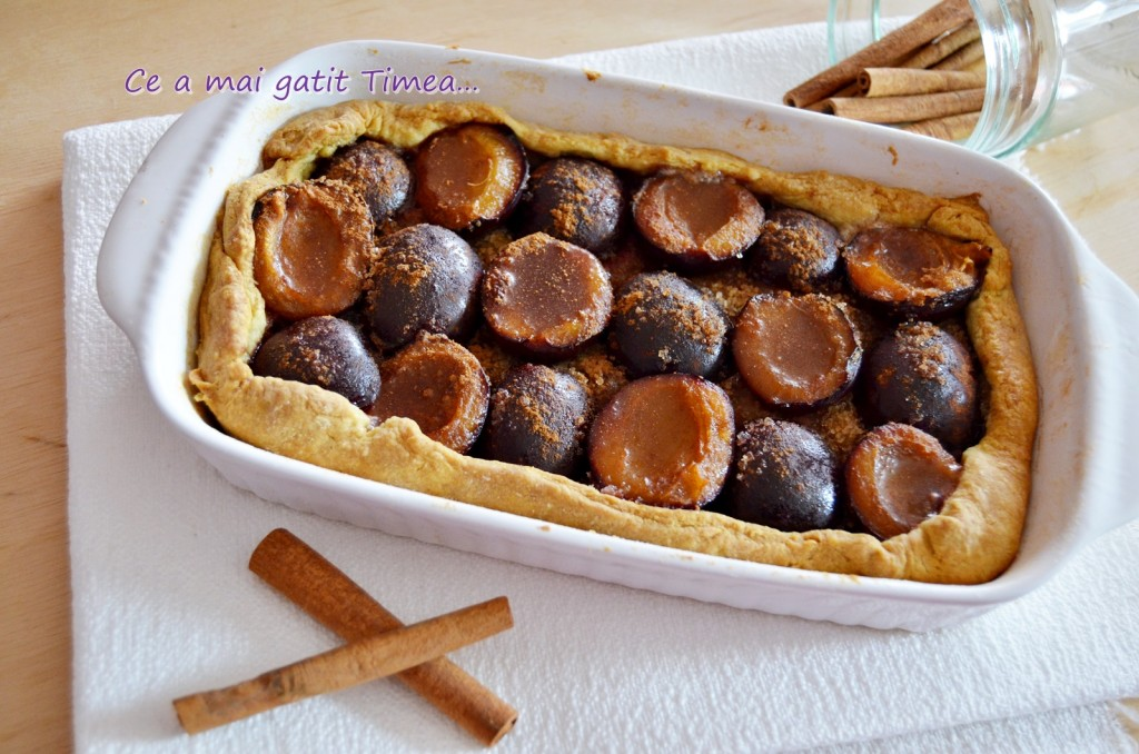tarta cu prune 1