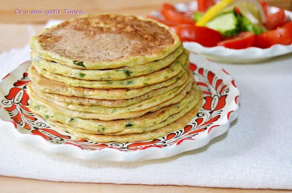 Pancakes cu dovlecel
