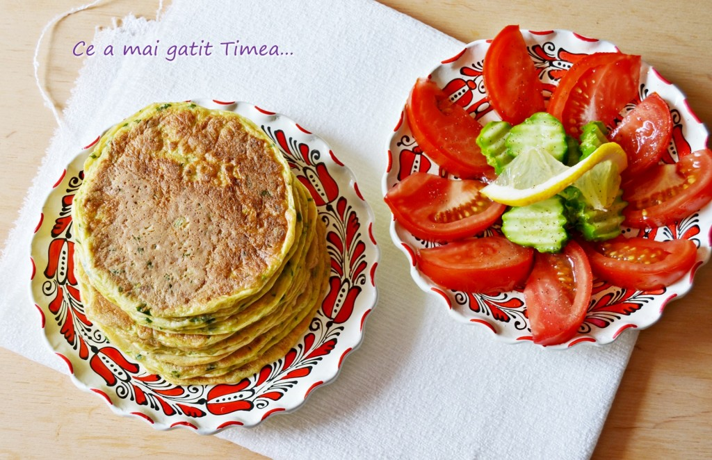 Pancakes cu dovlecel 2