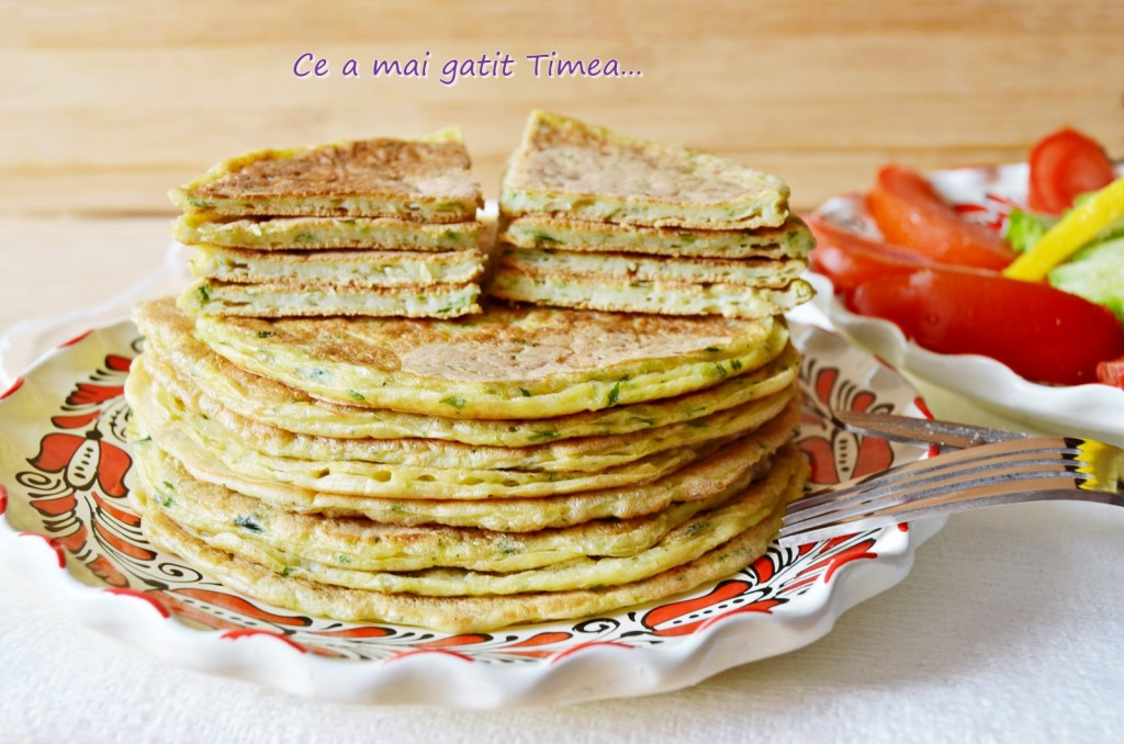 Pancakes cu dovlecel 3