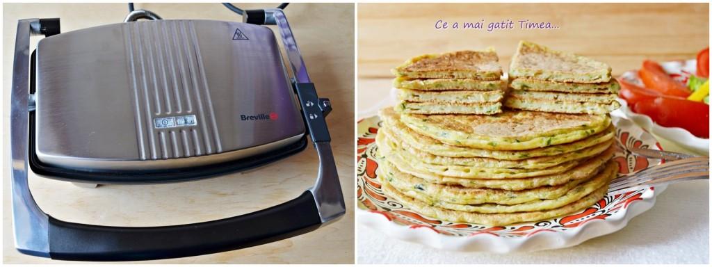 Pancakes cu dovlecel 4