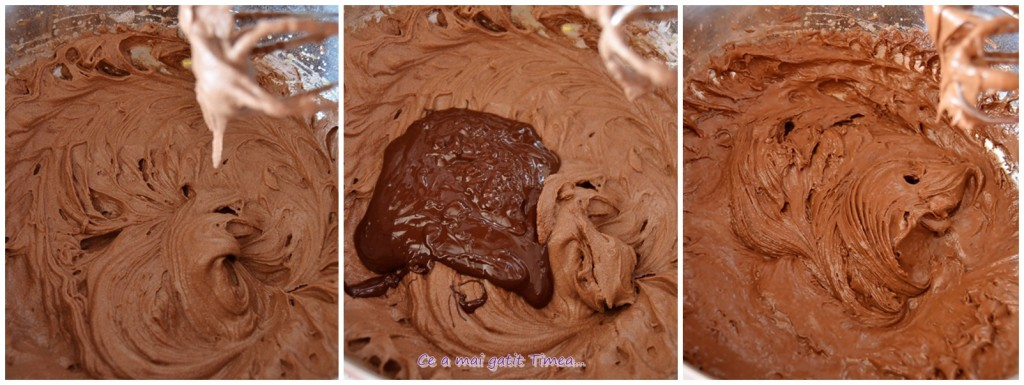 mod de preparare brownie cu visine