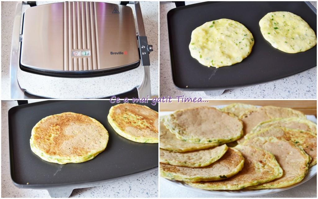 mod de preparare pancakes cu dovlecel 1
