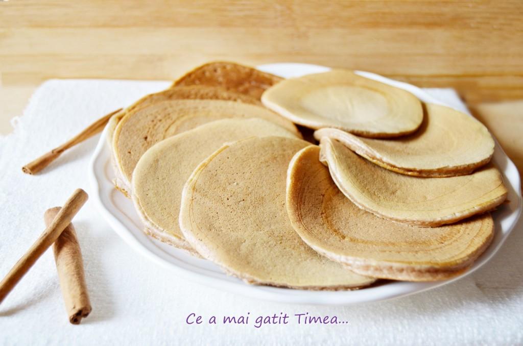 pancakes cu scortisoara