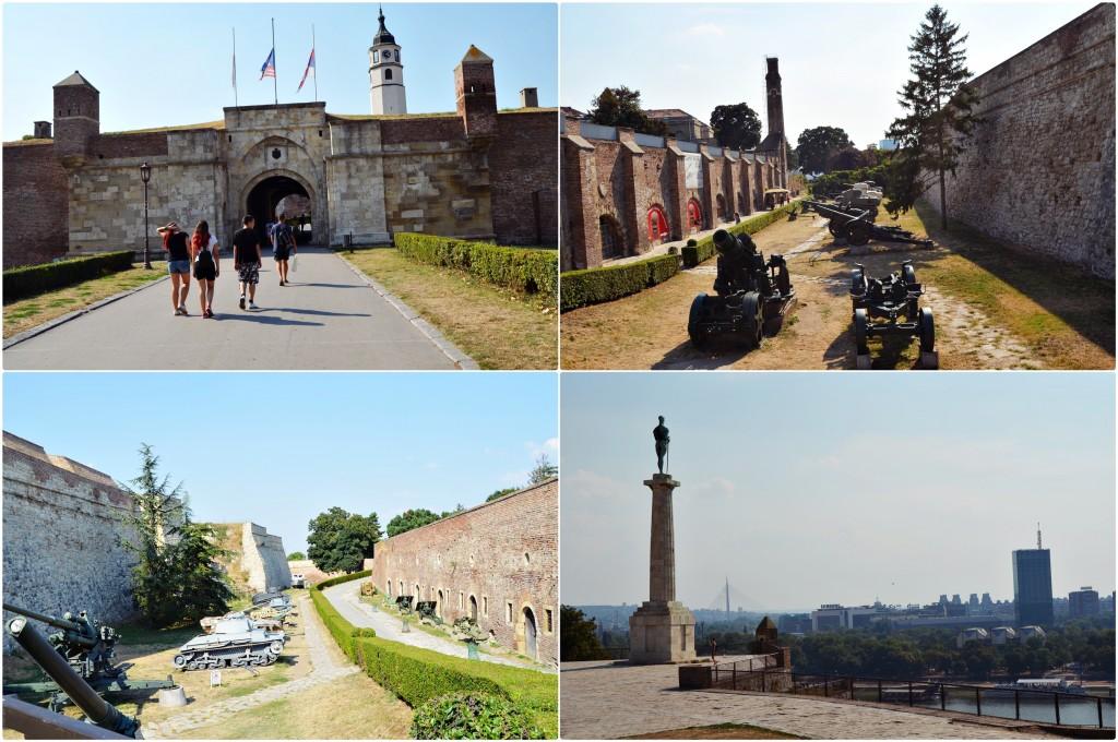 Fortareata Kalemegdan Belgrad