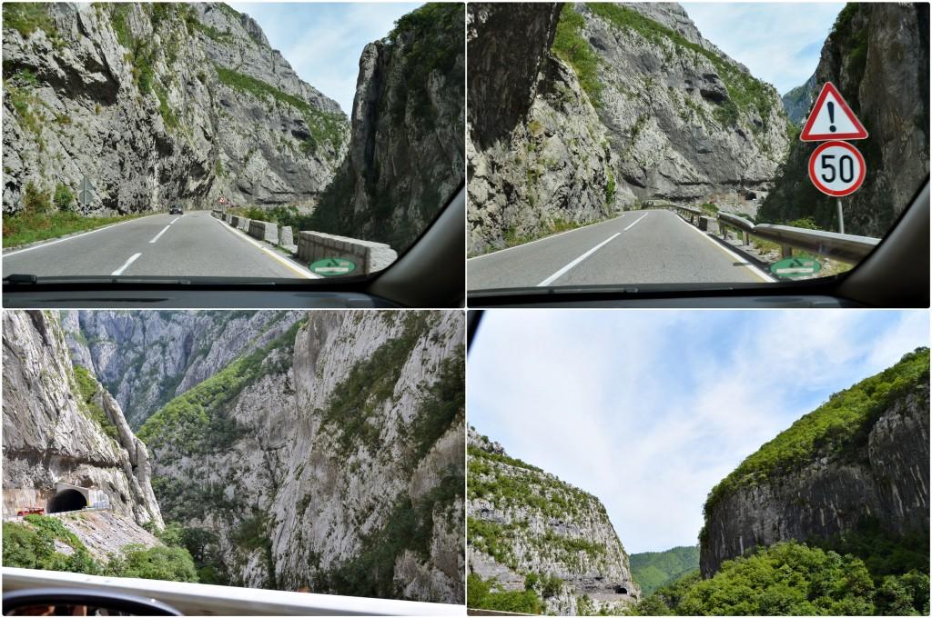 drumul prin Muntenegru 1