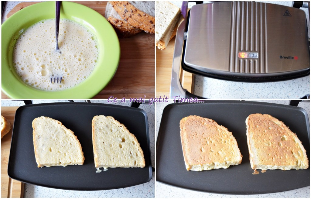 mic dejun sau cina cu Breville Panini Maker 3