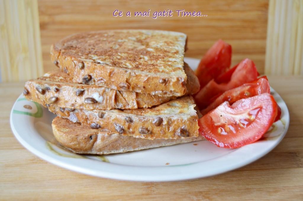 mic dejun sau cina cu Breville Panini Maker 5