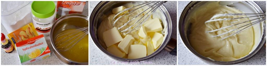 mod de preparare prajitura cu crema de vanilie 1
