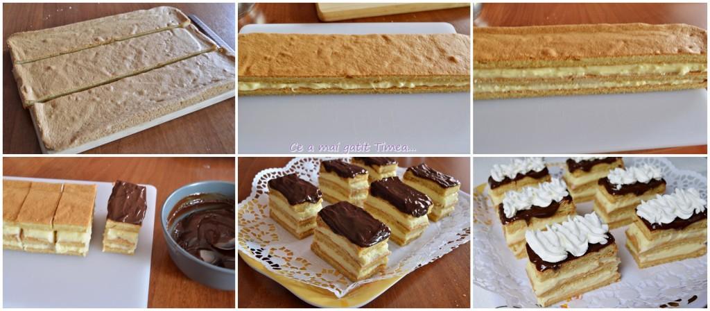 mod de preparare prajitura cu crema de vanilie 2