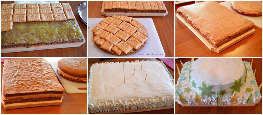 mod de preparare tort frozen 1
