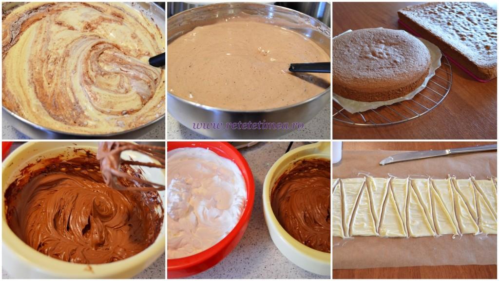 mod de preparare tort frozen