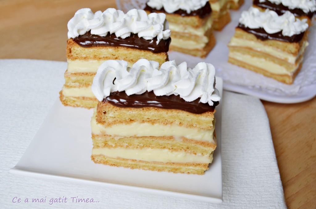 prajitura cu crema de vanilie 3