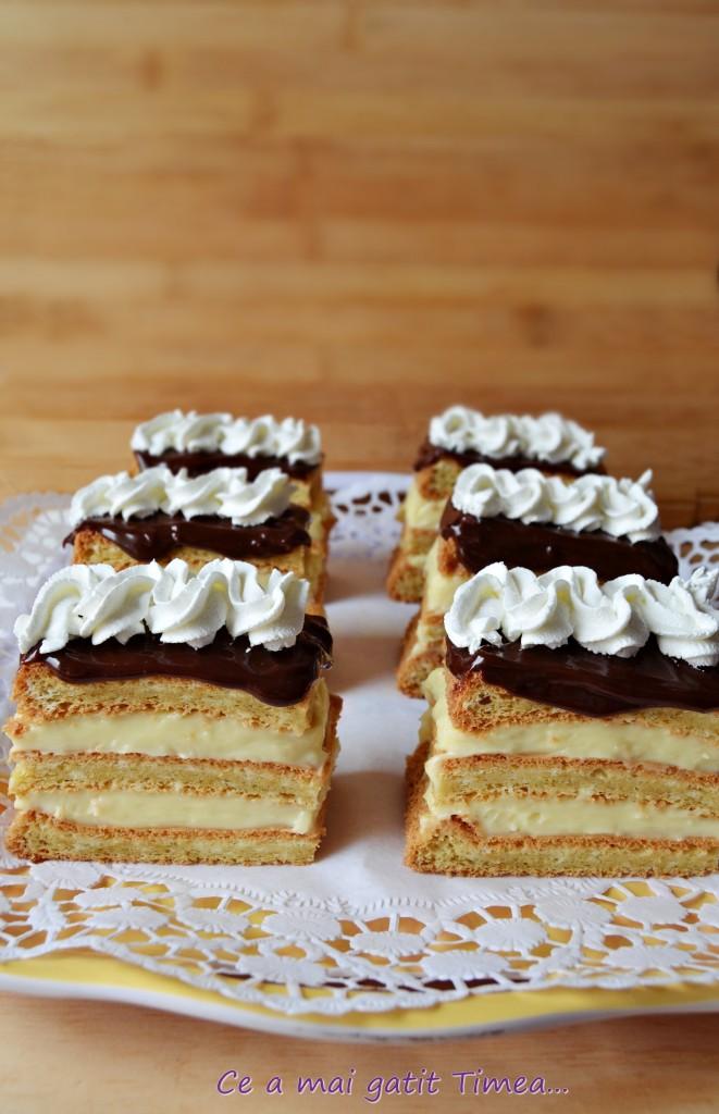prajitura cu crema de vanilie 4