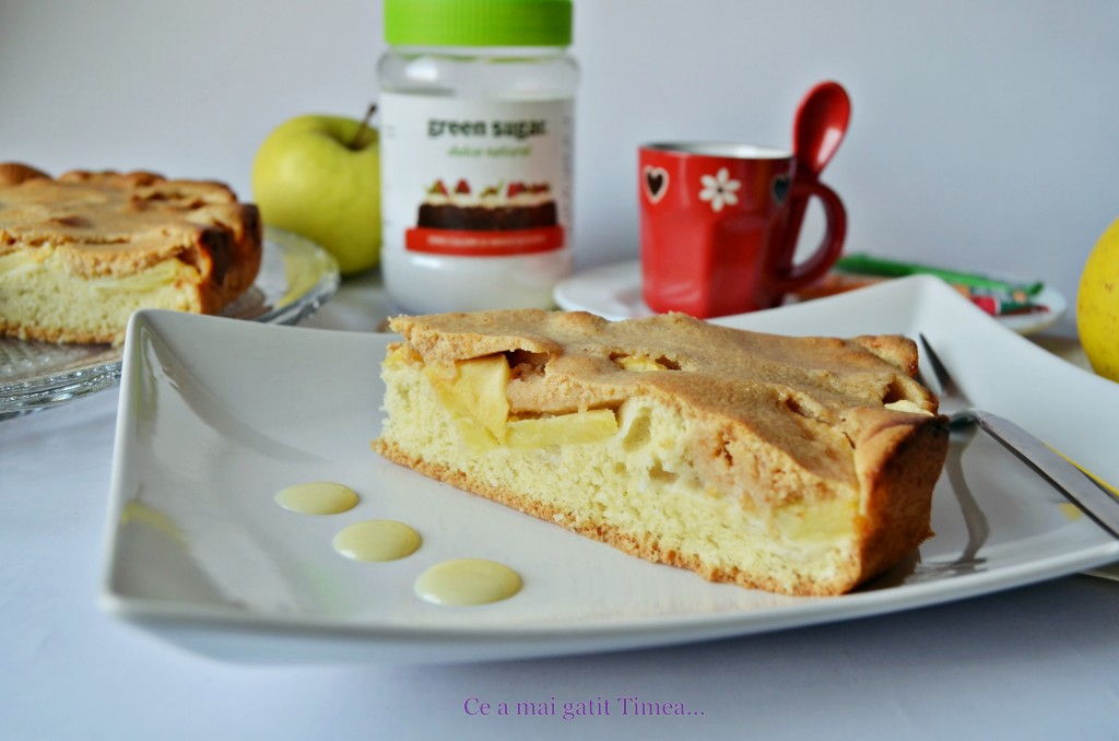 tarta cu mere si dulce de leche 1