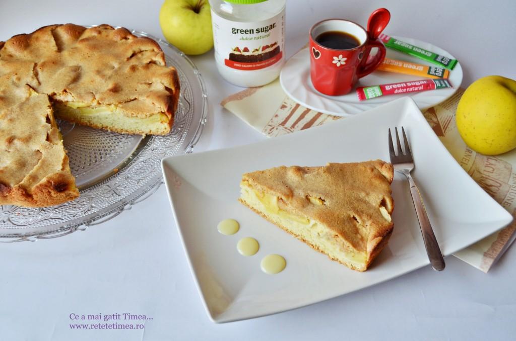tarta cu mere si dulce de leche