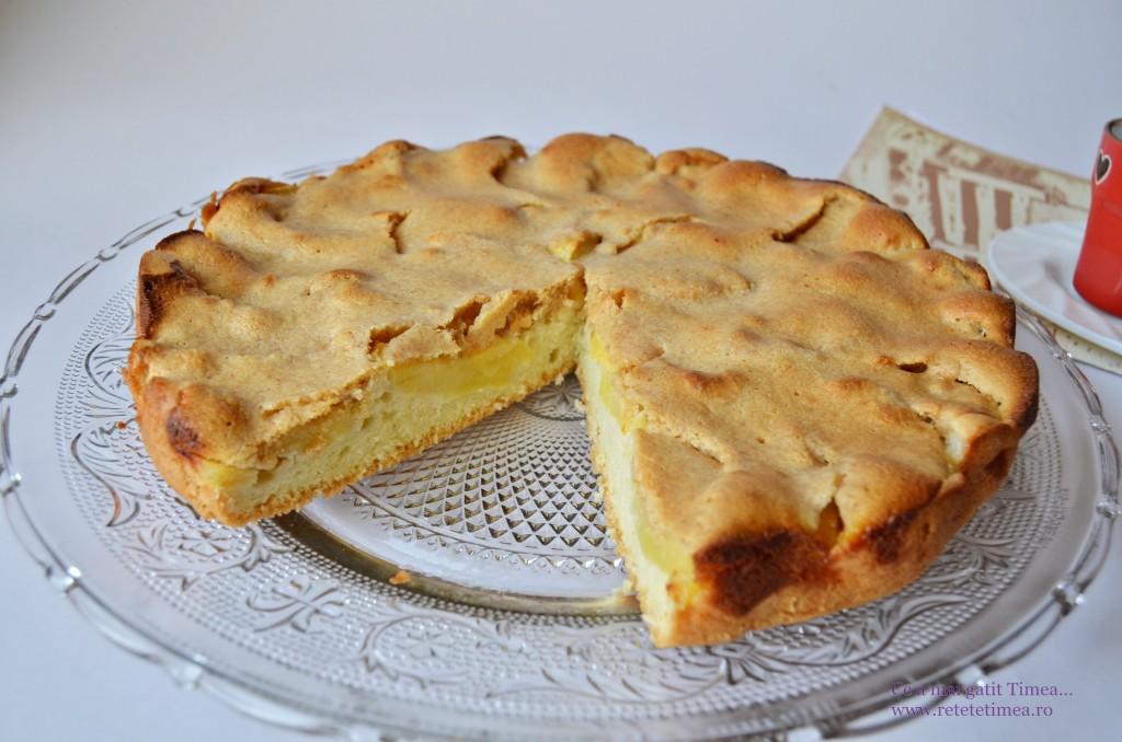 tarta cu mere si dulce de leche 2