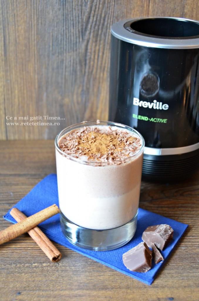 milkshake cu ciocolata si scortisoara 1