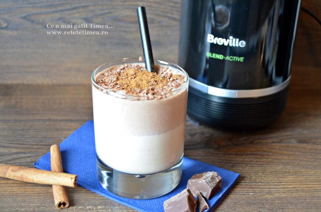 milkshake cu ciocolata si scortisoara 3