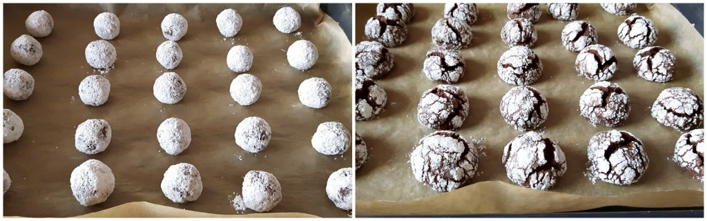 mod de preparare crinkle cu ciocolata si rom 1