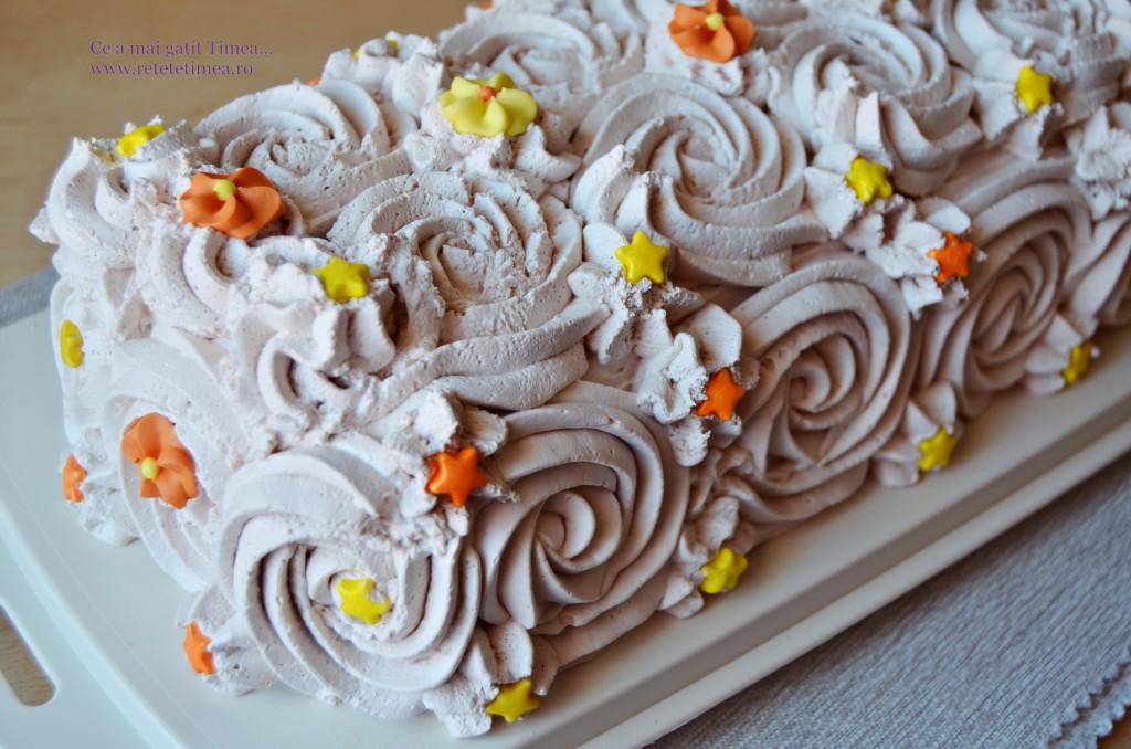 tort de piscoturi cu ciocolata 1