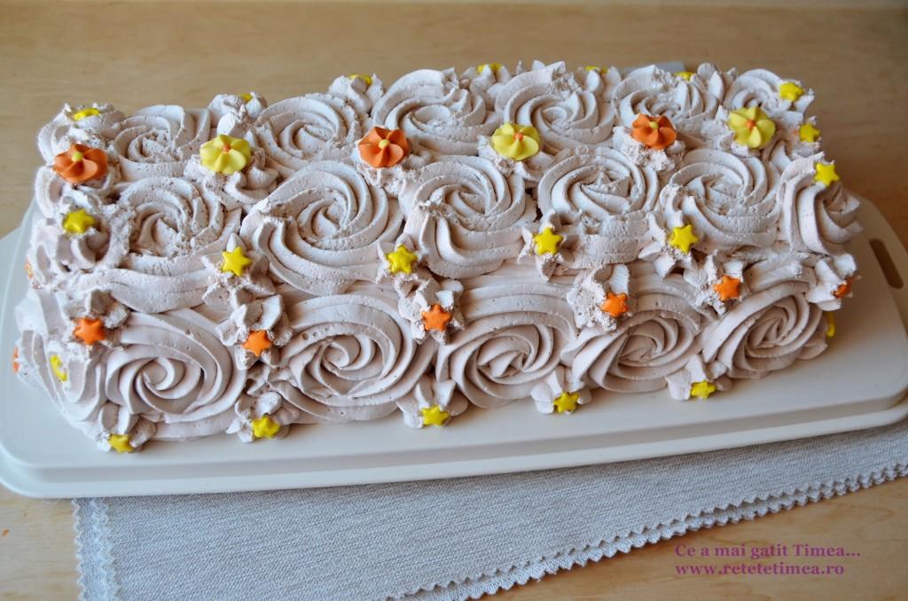 tort de piscoturi cu ciocolata 4