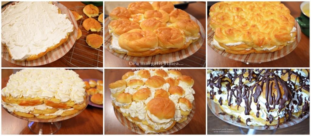 mod de preparare tort ecler 2
