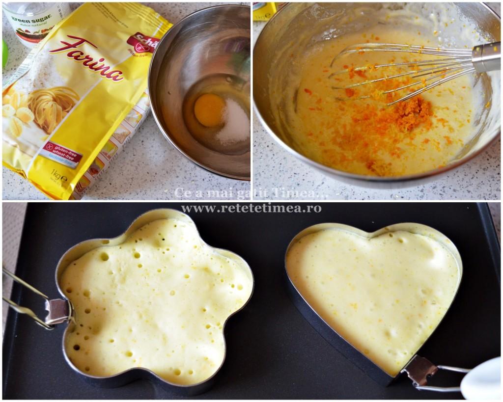 mod de preparare clatite cu portocala si miere