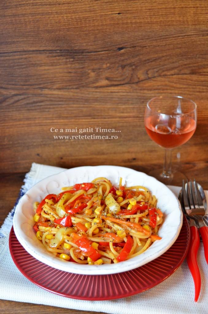 spaghete fara gluten cu legume 1