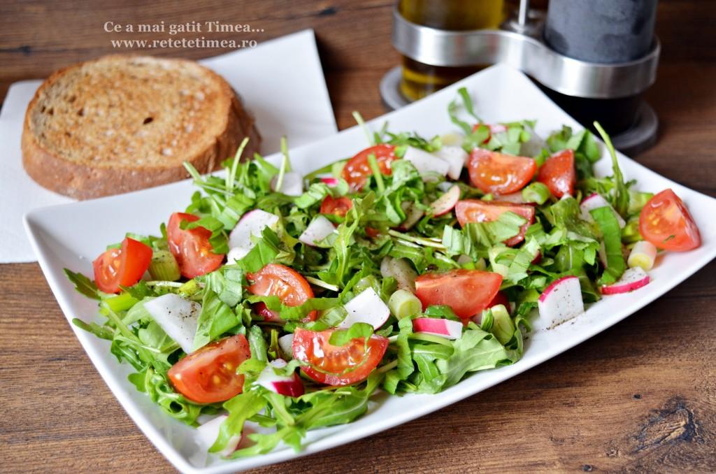 Salata de primavara cu rucola 1