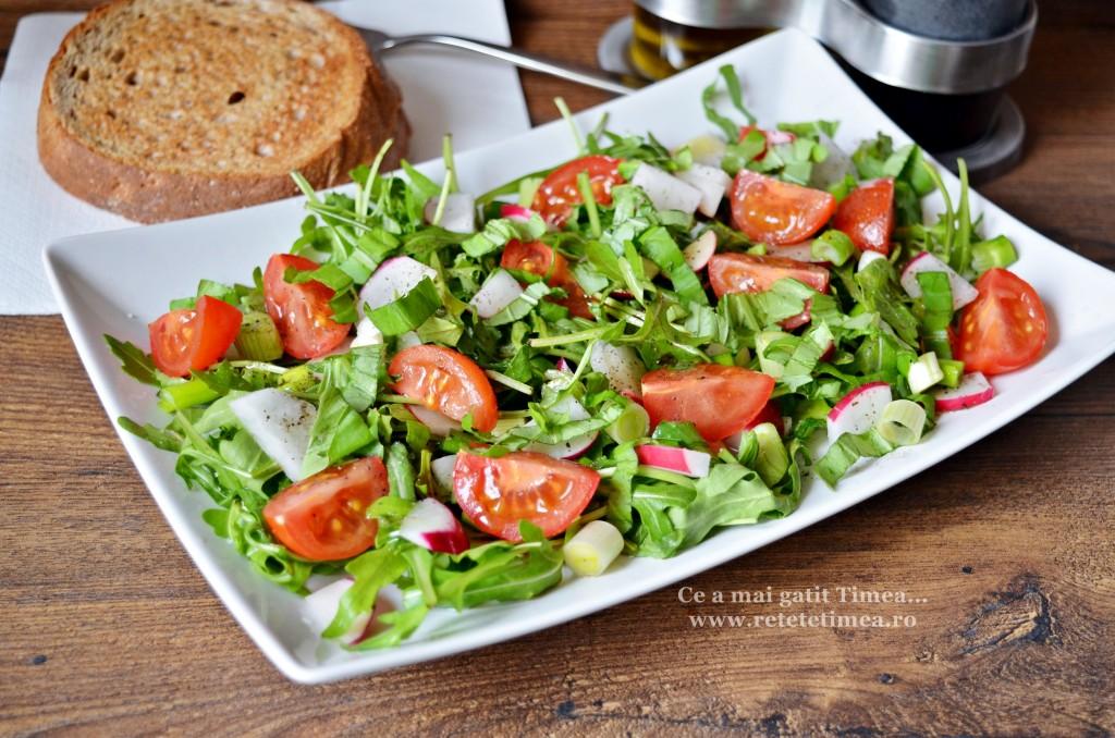 Salata de primavara cu rucola 2
