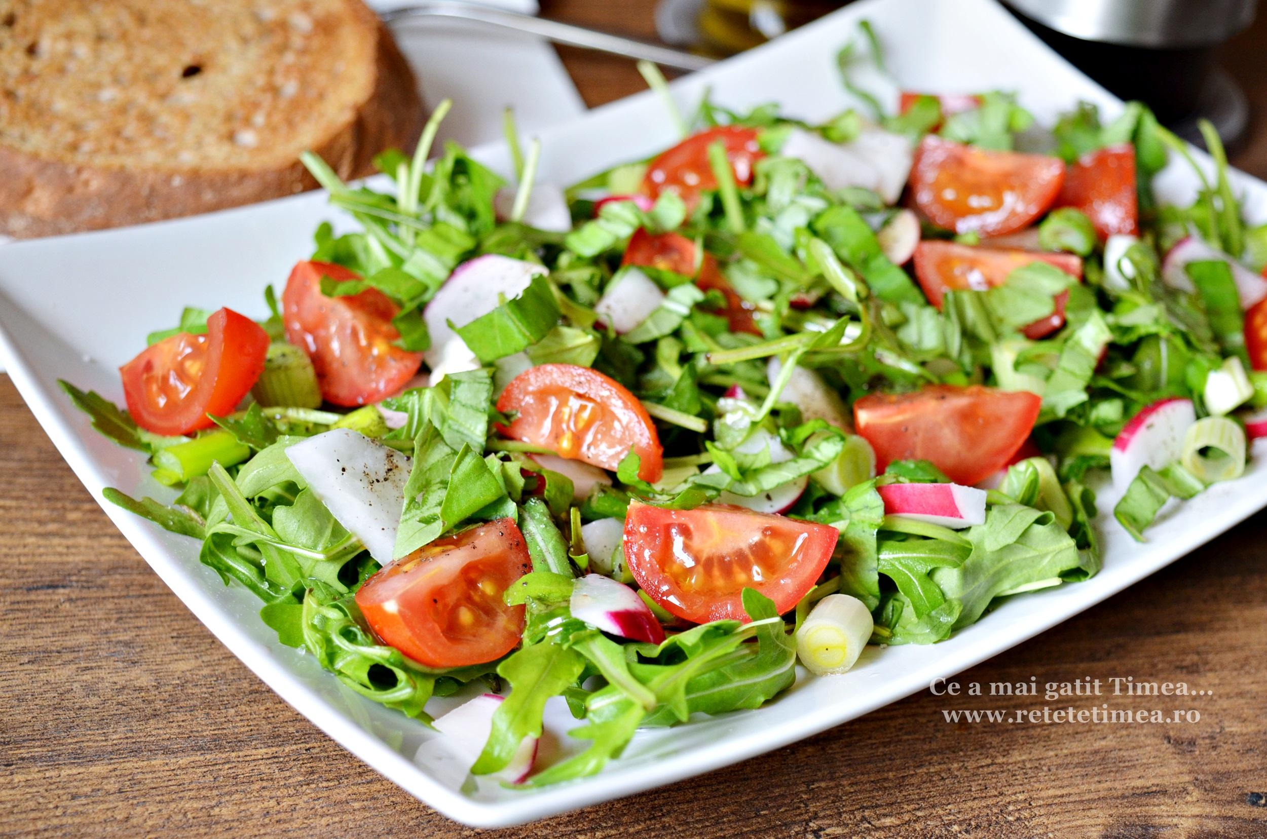 Salata de primavara cu rucola