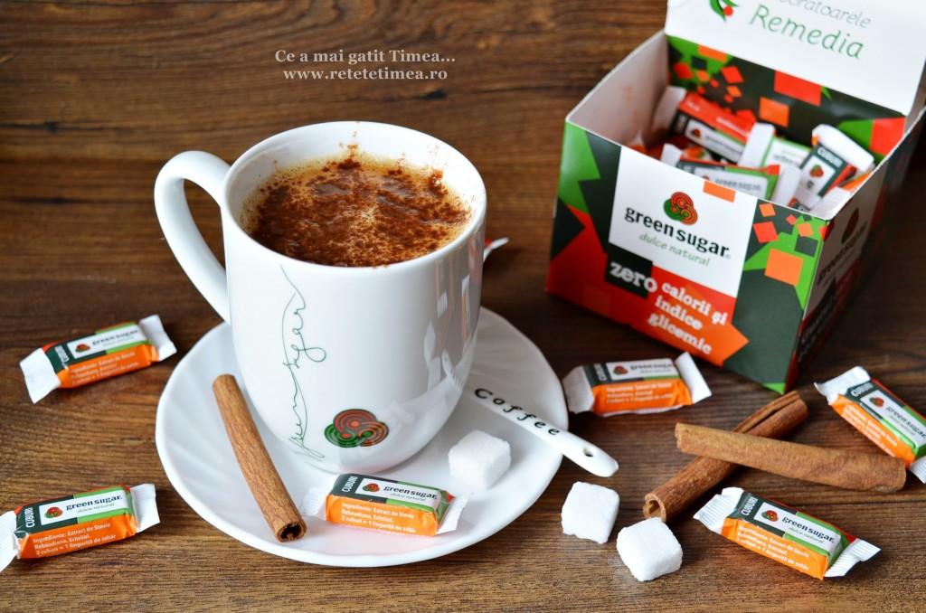 cafea cu scortisoara si green sugar 2