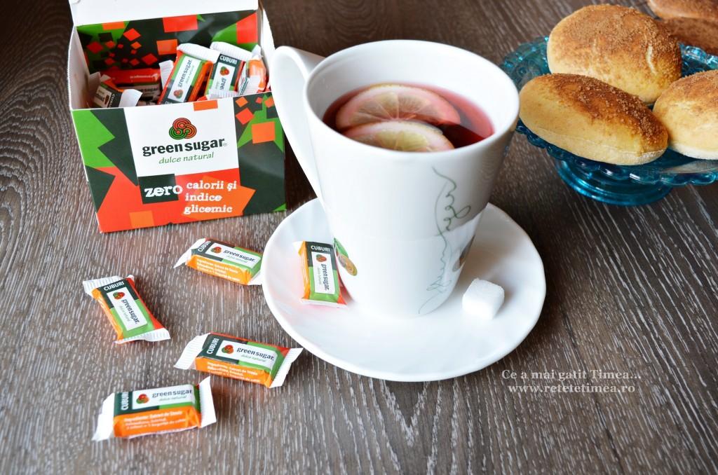 ceai cu green sugar