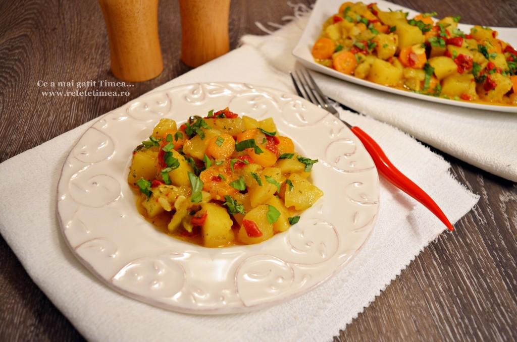 mancare de legume cu ardei copt 3