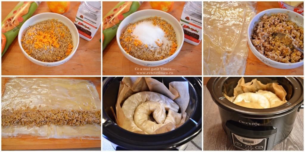 mod de preparare placinta cu nuca si portocala