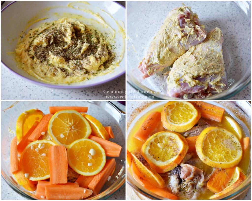 mod de preparare pulpe de curcan cu portocala 1