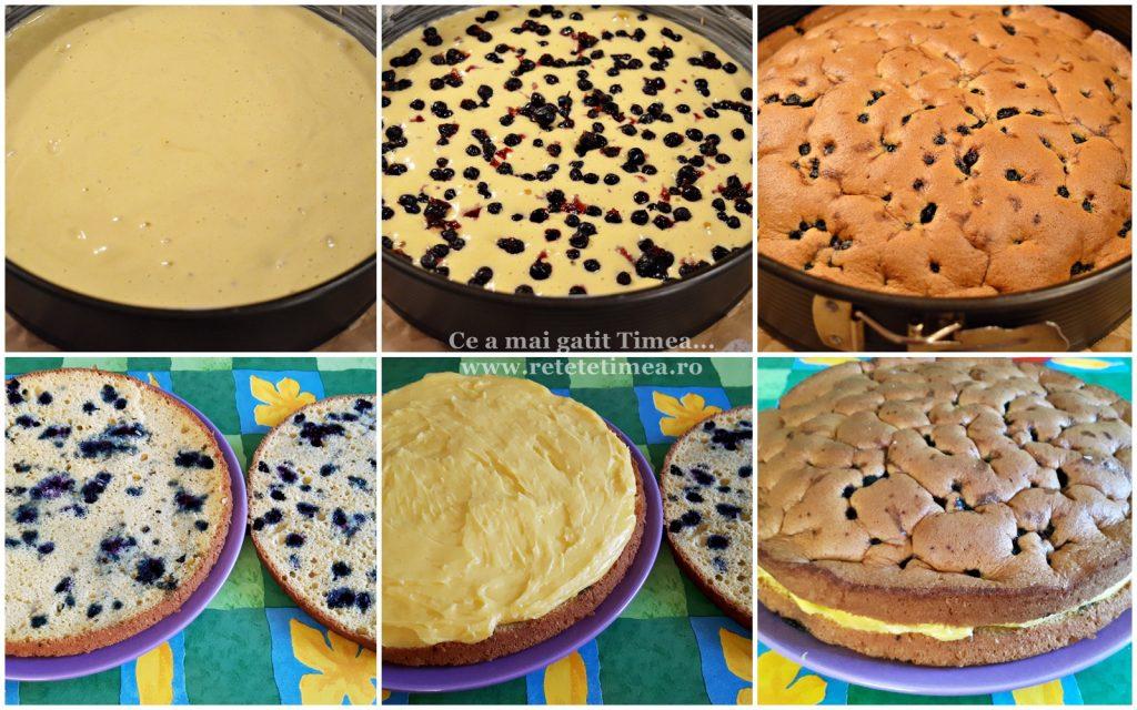 mod de preparare tort de vanilie