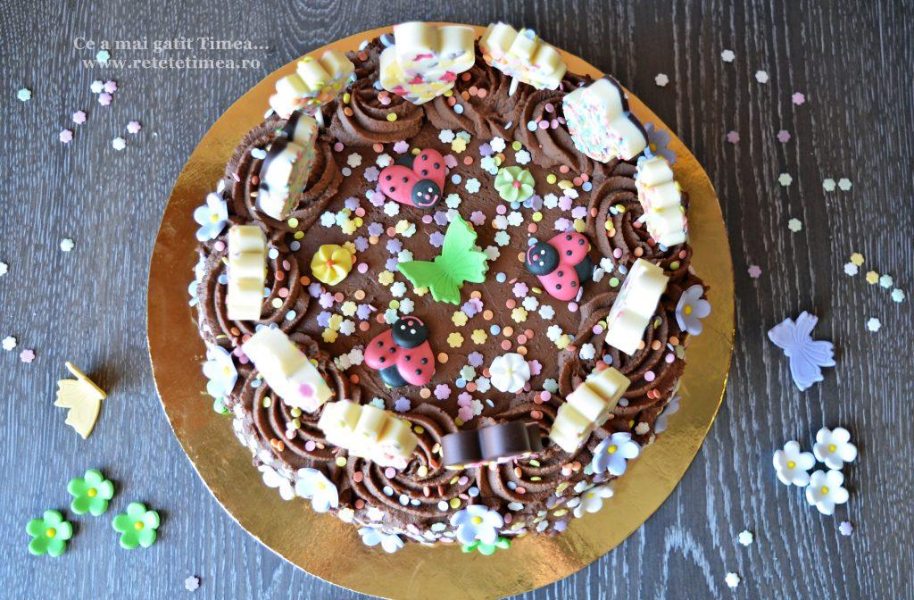 tort cu ciocolata primavara